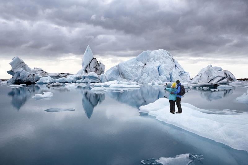 冰岛杰古沙龙湖